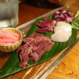 sashimi de cerdo