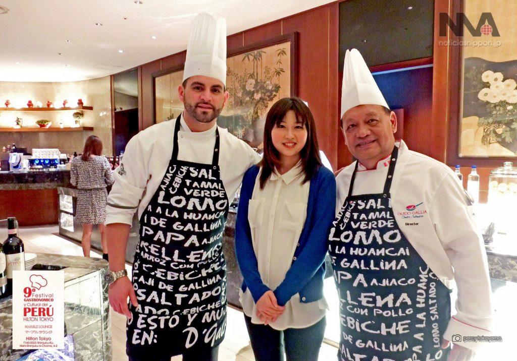 Guido Gallia (izq) y Clint Martín Ramírez (der).... también estuvieron a cargo del evento gastronómico del año pasado.
