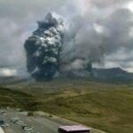 [FUNKA]  erupción del Monte Aso en Kumamoto